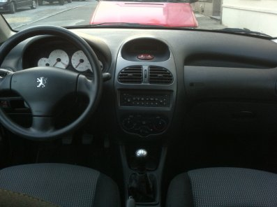 Pr sentation de ma peugeot 206 int rieur blog de t0nio for Peugeot 206 tuning interieur