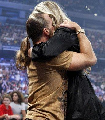 Shawn Michaels Et Sa Femme Rebecca